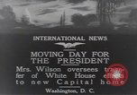 Image of moving day Washington DC USA, 1919, second 7 stock footage video 65675025863