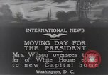 Image of moving day Washington DC USA, 1919, second 8 stock footage video 65675025863