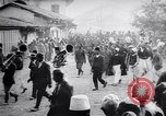 Image of arrival of prince Mirko Scutari Albania, 1913, second 6 stock footage video 65675025865