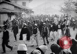 Image of arrival of prince Mirko Scutari Albania, 1913, second 8 stock footage video 65675025865