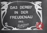 Image of horse race Derby in Austria Vienna Austria Freudenau, 1912, second 2 stock footage video 65675025869