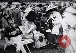 Image of horse race Derby in Austria Vienna Austria Freudenau, 1912, second 9 stock footage video 65675025869