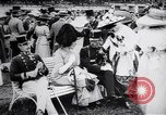 Image of horse race Derby in Austria Vienna Austria Freudenau, 1912, second 10 stock footage video 65675025869