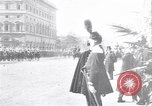 Image of King Peter I of Serbia Rome Italy, 1918, second 2 stock footage video 65675025871