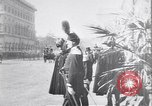 Image of King Peter I of Serbia Rome Italy, 1918, second 4 stock footage video 65675025871