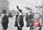 Image of King Peter I of Serbia Rome Italy, 1918, second 6 stock footage video 65675025871