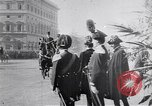 Image of King Peter I of Serbia Rome Italy, 1918, second 9 stock footage video 65675025871
