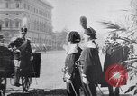 Image of King Peter I of Serbia Rome Italy, 1918, second 11 stock footage video 65675025871
