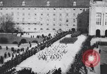 Image of dignitaries at parade Vienna Austria, 1916, second 6 stock footage video 65675025880