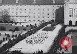 Image of dignitaries at parade Vienna Austria, 1916, second 8 stock footage video 65675025880