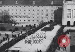 Image of dignitaries at parade Vienna Austria, 1916, second 9 stock footage video 65675025880
