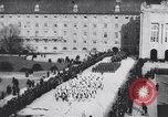 Image of dignitaries at parade Vienna Austria, 1916, second 10 stock footage video 65675025880