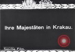 Image of Empress Zita of Austria Krakow Poland, 1916, second 3 stock footage video 65675025884