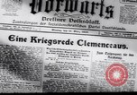Image of Armistice Berlin Germany, 1918, second 2 stock footage video 65675025886