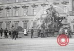 Image of fountain and statue Berlin Germany, 1914, second 1 stock footage video 65675025895