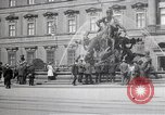 Image of fountain and statue Berlin Germany, 1914, second 2 stock footage video 65675025895