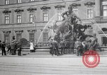 Image of fountain and statue Berlin Germany, 1914, second 3 stock footage video 65675025895
