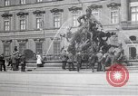 Image of fountain and statue Berlin Germany, 1914, second 4 stock footage video 65675025895