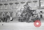 Image of fountain and statue Berlin Germany, 1914, second 5 stock footage video 65675025895