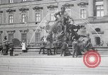 Image of fountain and statue Berlin Germany, 1914, second 6 stock footage video 65675025895