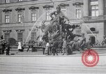 Image of fountain and statue Berlin Germany, 1914, second 8 stock footage video 65675025895