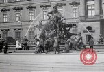 Image of fountain and statue Berlin Germany, 1914, second 9 stock footage video 65675025895