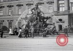 Image of fountain and statue Berlin Germany, 1914, second 10 stock footage video 65675025895