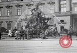 Image of fountain and statue Berlin Germany, 1914, second 11 stock footage video 65675025895