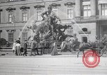 Image of fountain and statue Berlin Germany, 1914, second 12 stock footage video 65675025895