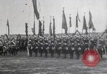 Image of Czar Nicholas II  at military review Petrograd Russia, 1914, second 2 stock footage video 65675025896