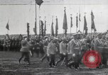 Image of Czar Nicholas II  at military review Petrograd Russia, 1914, second 3 stock footage video 65675025896