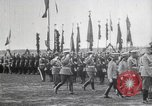 Image of Czar Nicholas II  at military review Petrograd Russia, 1914, second 4 stock footage video 65675025896