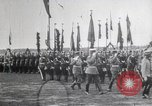 Image of Czar Nicholas II  at military review Petrograd Russia, 1914, second 5 stock footage video 65675025896