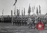 Image of Czar Nicholas II  at military review Petrograd Russia, 1914, second 6 stock footage video 65675025896