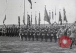 Image of Czar Nicholas II  at military review Petrograd Russia, 1914, second 7 stock footage video 65675025896