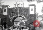 Image of unveil monument Wissembourg Alsace France, 1909, second 12 stock footage video 65675025897