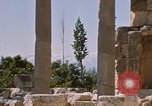Image of temples of Baalbek Lebanon, 1968, second 6 stock footage video 65675025904