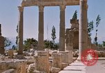 Image of temples of Baalbek Lebanon, 1968, second 7 stock footage video 65675025904