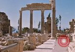 Image of temples of Baalbek Lebanon, 1968, second 10 stock footage video 65675025904