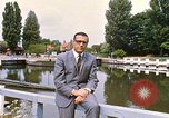 Image of river bank United Kingdom, 1968, second 7 stock footage video 65675025909
