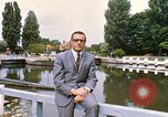 Image of river bank United Kingdom, 1968, second 8 stock footage video 65675025909