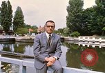 Image of river bank United Kingdom, 1968, second 9 stock footage video 65675025909