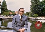Image of river bank United Kingdom, 1968, second 11 stock footage video 65675025909