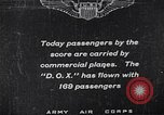 Image of passenger flight United States USA, 1923, second 1 stock footage video 65675025928