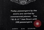 Image of passenger flight United States USA, 1923, second 10 stock footage video 65675025928