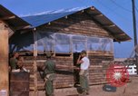 Image of Soldiers building a mess hall Vietnam, 1967, second 7 stock footage video 65675025930