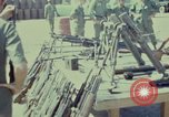 Image of Captured Viet Cong weapons Vietnam, 1967, second 10 stock footage video 65675025943