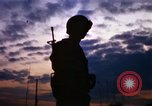 Image of guard on duty Vietnam, 1969, second 12 stock footage video 65675025944