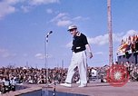 Image of Bob Hope show Pleiku South Vietnam Camp Enari, 1967, second 5 stock footage video 65675025970