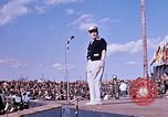 Image of Bob Hope show Pleiku South Vietnam Camp Enari, 1967, second 6 stock footage video 65675025970